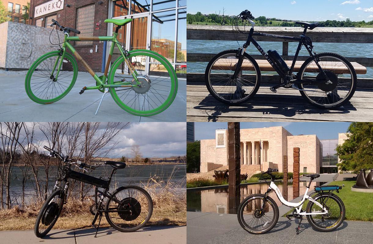 My e-bike montage