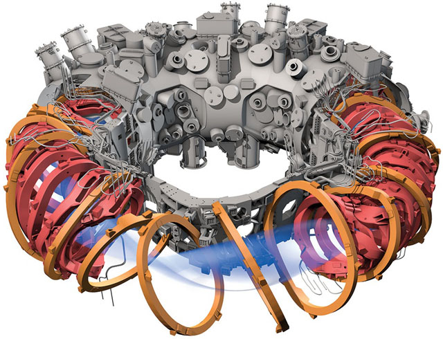 Illustration of WX-7 Stellarator